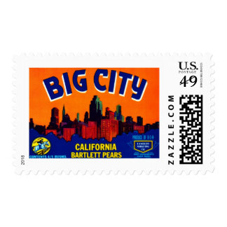 Big City Bartlett Pears Stamp