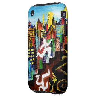 Big City Hustle (Running Man) iPhone 3G/3GS Tough  iPhone 3 Tough Covers
