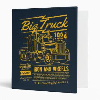 Big Classic USA Truck Iron and Wheels Binder