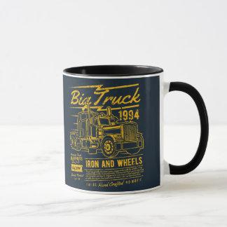 Big Classic USA Truck Iron and Wheels Mug