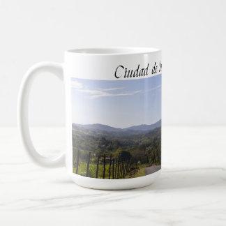 Big coffee cup  with photo from Cidra Puerto Rico Classic White Coffee Mug