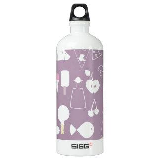 big collection of food SIGG traveler 1.0L water bottle