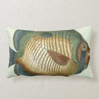 Big Colorful Fish Lumbar Pillow