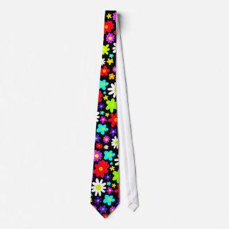 Big Colorful Flowers II Tie
