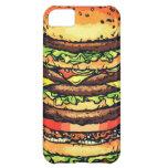 Big, colorful hamburger iPhone 5C covers