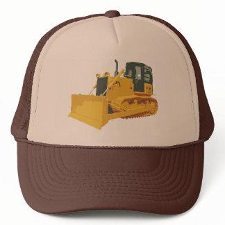 Big Construction Bulldozer on Tracks Trucker Hat