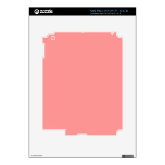 BIG CORAL COLOR BACKGROUND TEMPLATE TEXTURE WALLPA DECAL FOR iPad 3