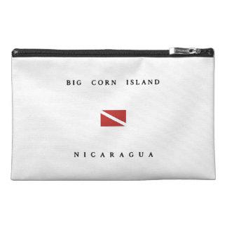 Big Corn Island Nicaragua Scuba Dive Flag Travel Accessories Bags