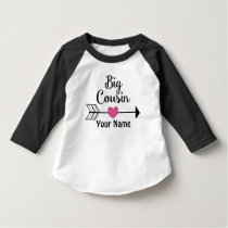 Big Cousin Arrow Heart Personalized T-shirt
