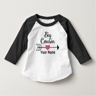 Big Cousin Arrow Heart Personalized T-shirt