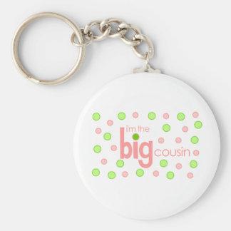 Big cousin polkadot T-shirt Keychain