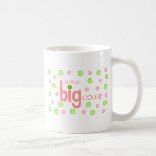 Big cousin polkadot T-shirt Classic White Coffee Mug