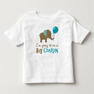 Big Cousin to be - Mod Elephant T Shirt