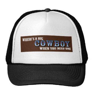 Big Cowboys Trucker Hat