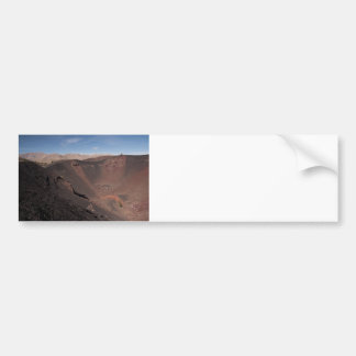 Big Craters Bumper Sticker