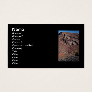 Big Craters Business Card