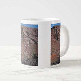 Big Craters Giant Coffee Mug