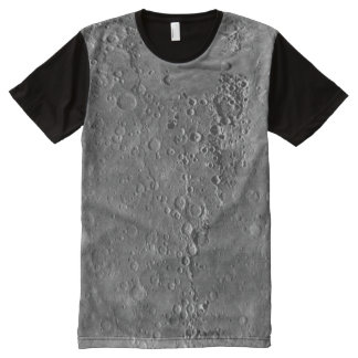 Big Craters Surface Planet Moon All-Over-Print Shirt