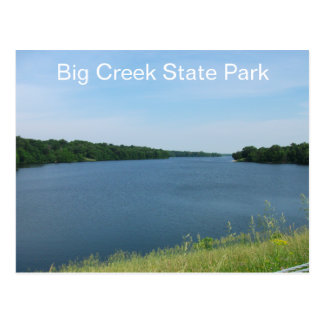 Big Creek State Park, Iowa Postcard