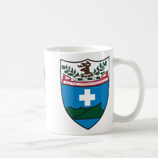 big crest, TF Morgan Classic White Coffee Mug