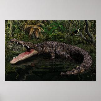 Big Croc Poster