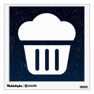 Big Cupcakes Pictograph Room Graphics