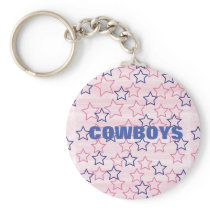 Big D Cheerleader Love Keychain