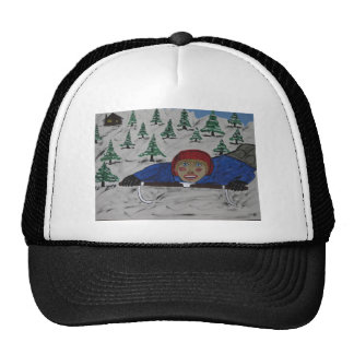 Big D Sled Ridding Trucker Hat