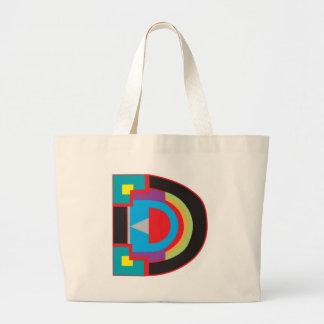 Big D Tote Bag