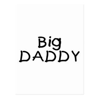 Big Daddy (Blk) Postcard