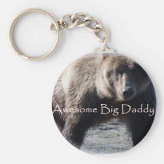 Big Daddy brown Bear Gift Collection Key Chains
