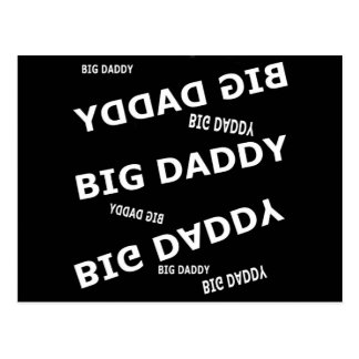 Big Daddy Cards by Khoncepets Postcards