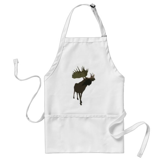 Big Daddy Moose Adult Apron