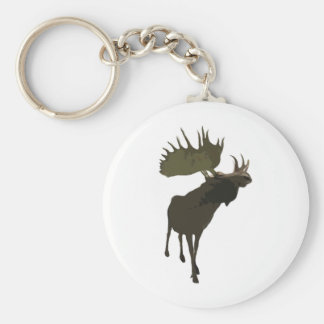 Big Daddy Moose Keychain