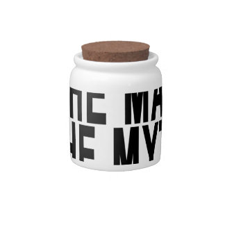 Big Daddy The Man The Myth The Legend Shirt.png Candy Jar