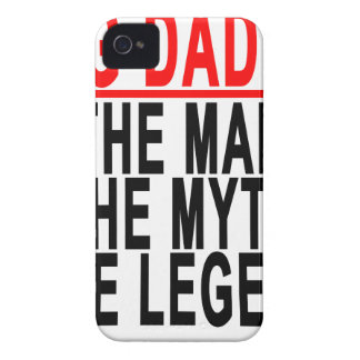 Big Daddy The Man The Myth The Legend Shirt.png iPhone 4 Cover