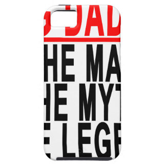 Big Daddy The Man The Myth The Legend Shirt.png iPhone SE/5/5s Case