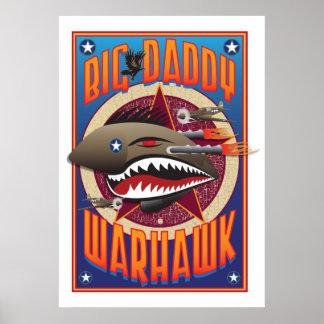 Big Daddy Warhawk-Poster Poster