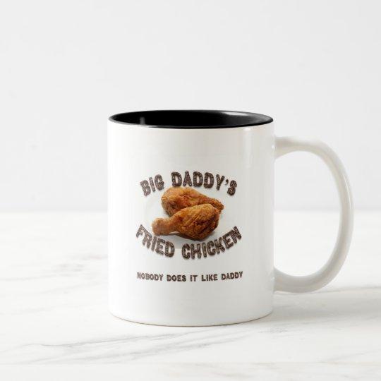 Big Daddy's Fried Chicken Two-Tone Coffee Mug