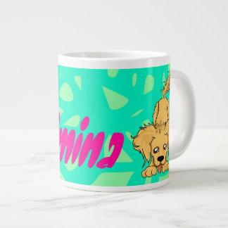 Big Daisy Dog Large Coffee Mug