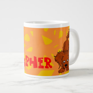 Big Danny Dog Large Coffee Mug