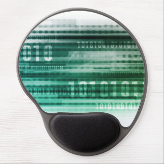 Big Data and Cloud Computing Gel Mouse Pad