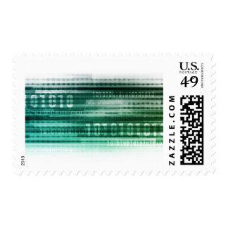 Big Data and Cloud Computing Postage Stamp
