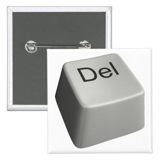 Big delete key pins