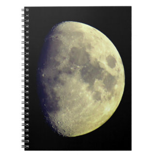 Big Detailed Moon Notebook