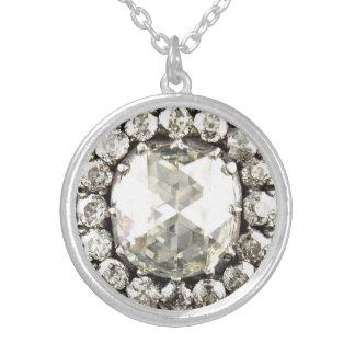 Big Diamond Bling Vintage Costume Jewelry Charm