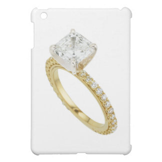 Big Diamond Engagement Ring Hint Hint Cover For The iPad Mini
