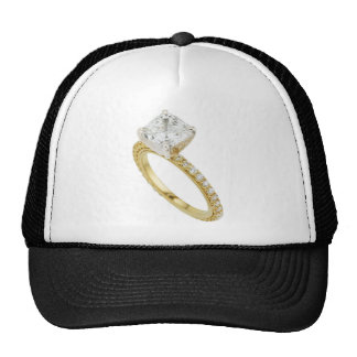 Big Diamond Engagement Ring Hint Hint Hats