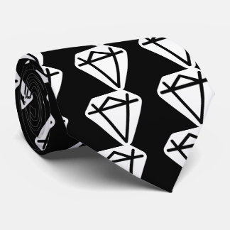 Big Diamonds Pictograph Tie