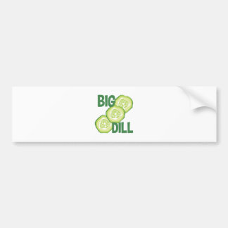 Big Dill Bumper Sticker